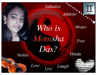 Who is Monisha Das copy