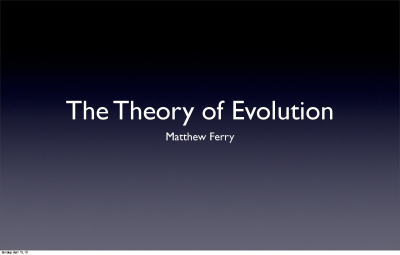 Physics_Theory_of_Evolution