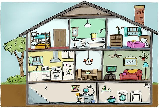 Partes de las casa - Imagui