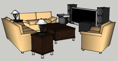 La casa perfecta de enthony chinn science leadership academy for Sala de estar dibujo