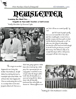to kill a mockingbird editorial newspaper article To kill a mockingbird taught us about bravery, injustice, inequality, poverty, racism, corruption, hatred, oppression, how we should judge people by their character and nothing else, how the.