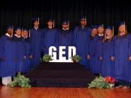 2010 GED Graduation - 11 participants