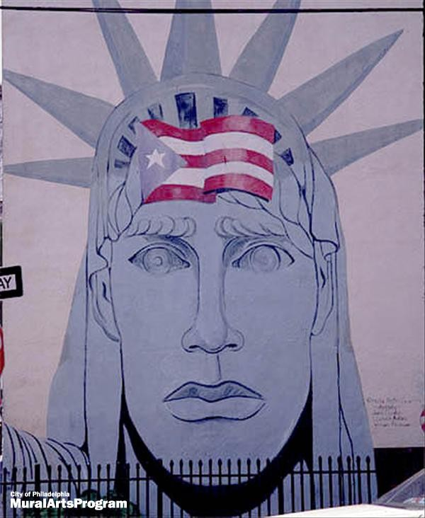 Satatue Of Liberty With Puartarican Flag Tattoo: Puerto Rican Statue Of Liberty Por Adonis, Dietrich