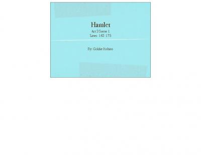 hamlet courtier
