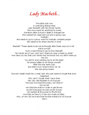 macbeth vs lady macbeth