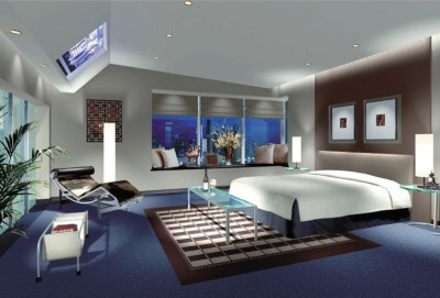 Light-blue-bedroom-Interior-Design-3D