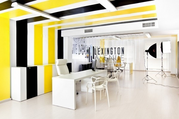 The-second-room-on-Black-And-Yellow-Office