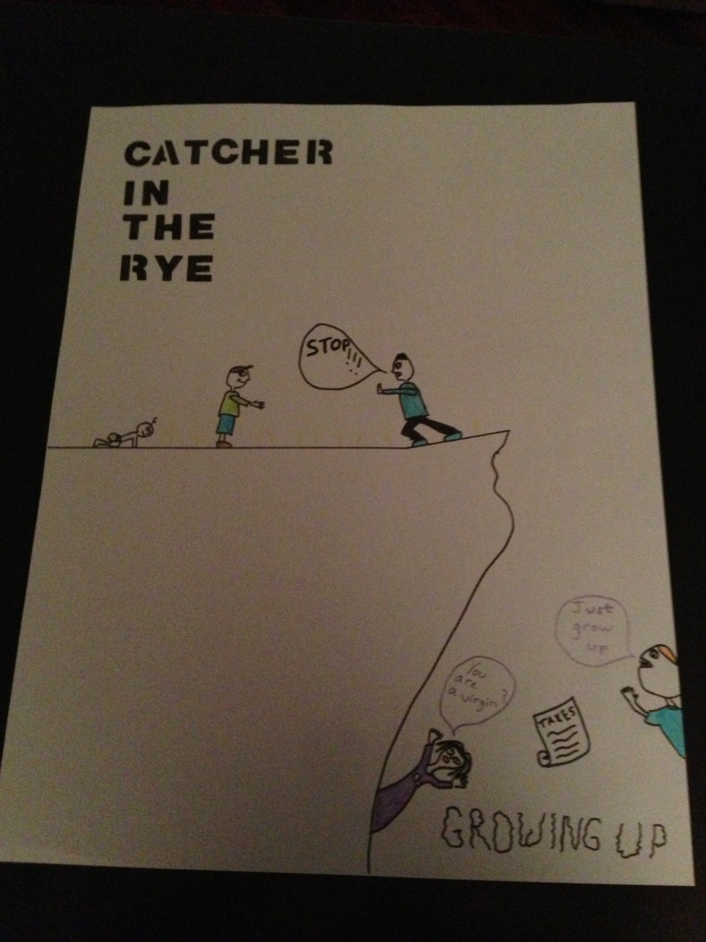 Catcher in the rye essay growing up