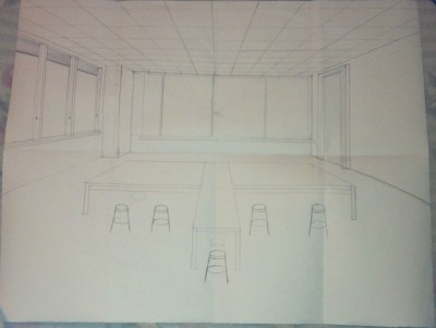 one point perspective final