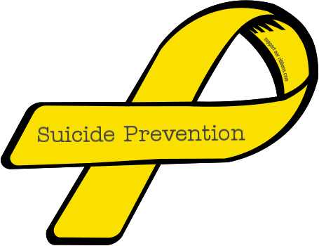19130-custom-ribbon-magnet-sticker-Suicide+Prevention