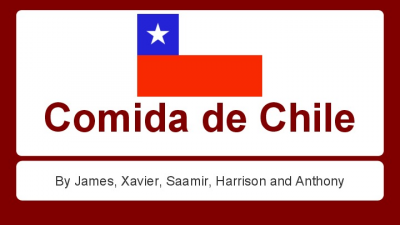 Chile Foods Presentation