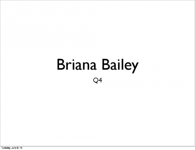 briana bailey art Q4