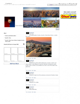Barcelona on 'Fakebook'