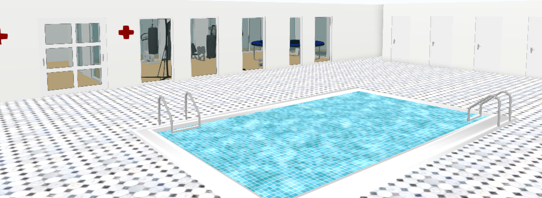 Pool and Changing Rooms