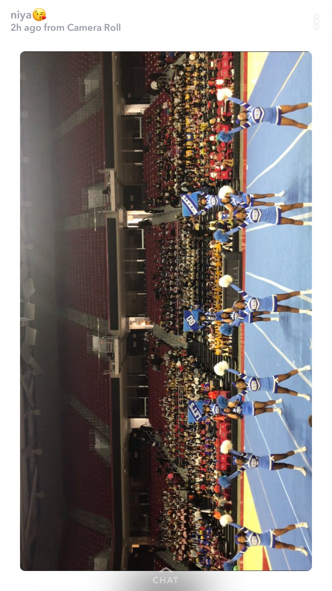 This was our cheerleading competition for the Philadelphia Districts competition where we took home 2nd place.