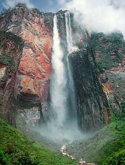 waterfall-mountains