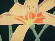 alex-katz-lily-flower-painting