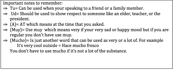 Basic Conversation Questions Translated into English to